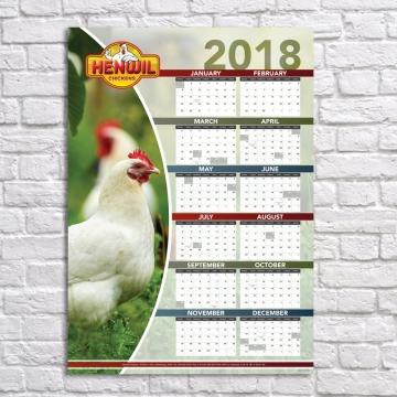 Henwill Calendar